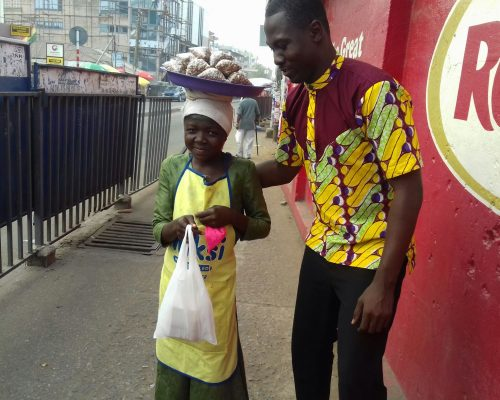 Food for street children