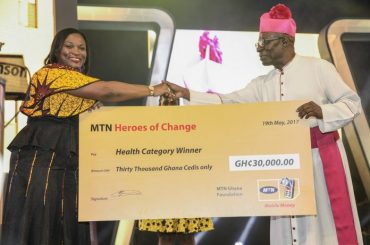 MTN HEORES OF CHANGE WINNER 2017 - FR BOBBY BENSON